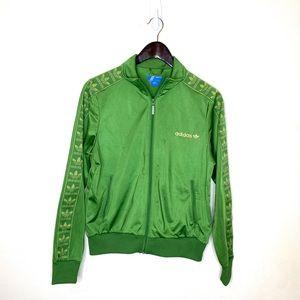 Adidas Retro Style Zip Up Trefoil Track Jacket